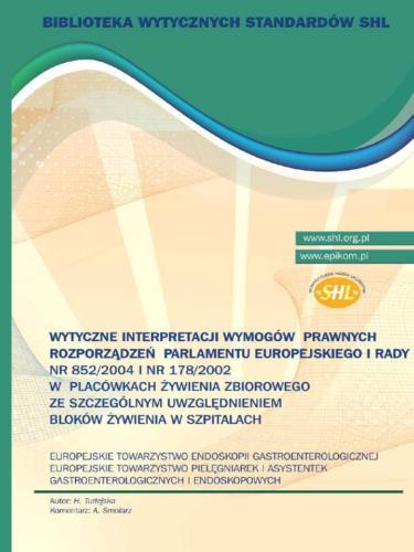 Wytyczne interpretacji wymogów prawnych rozporządzeń Parlamentu Europejskiego